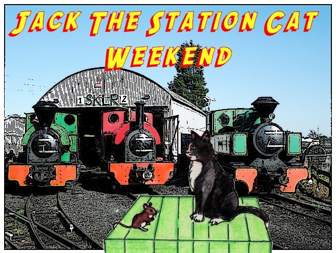 Jack the Station Cat Weekend on the SKLR