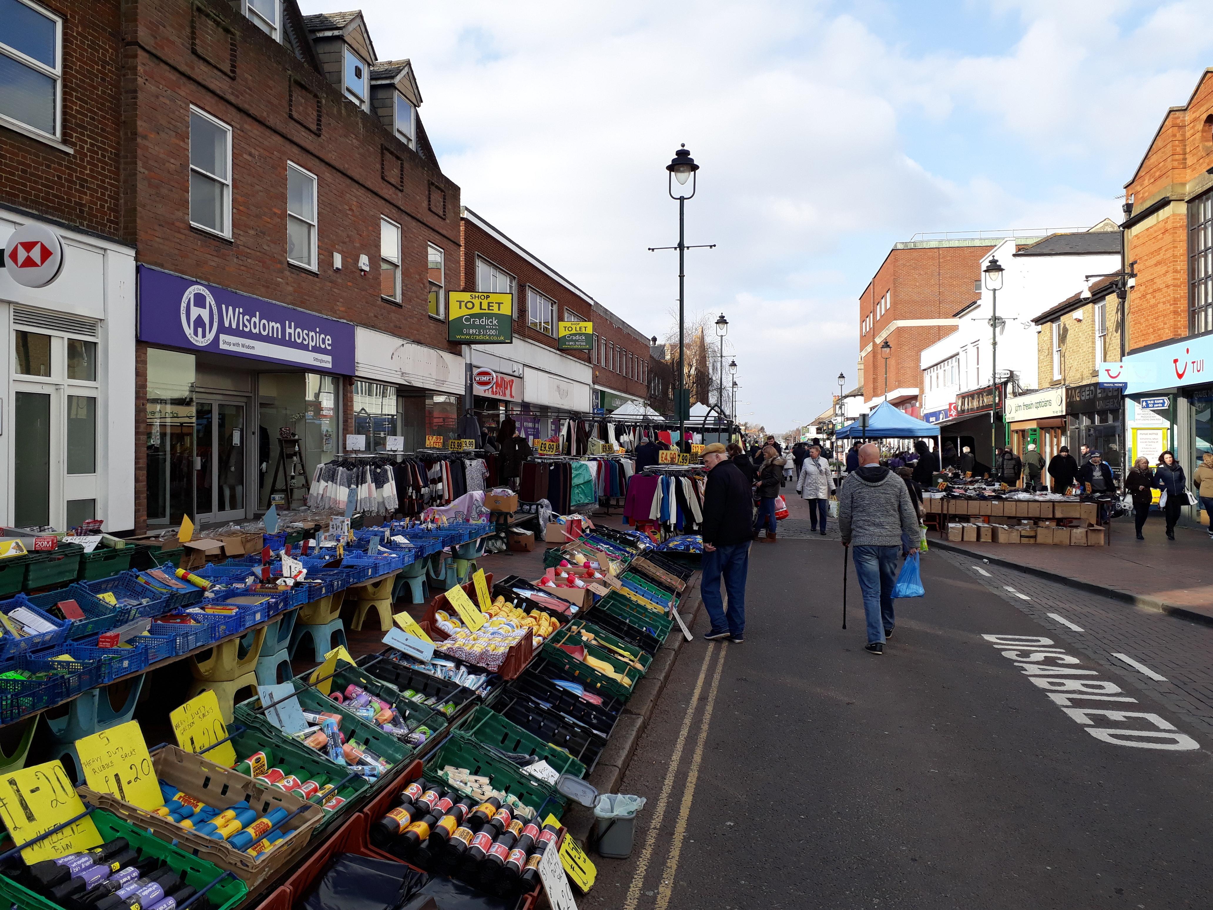 sittingbourne market shopping in kent visit swale