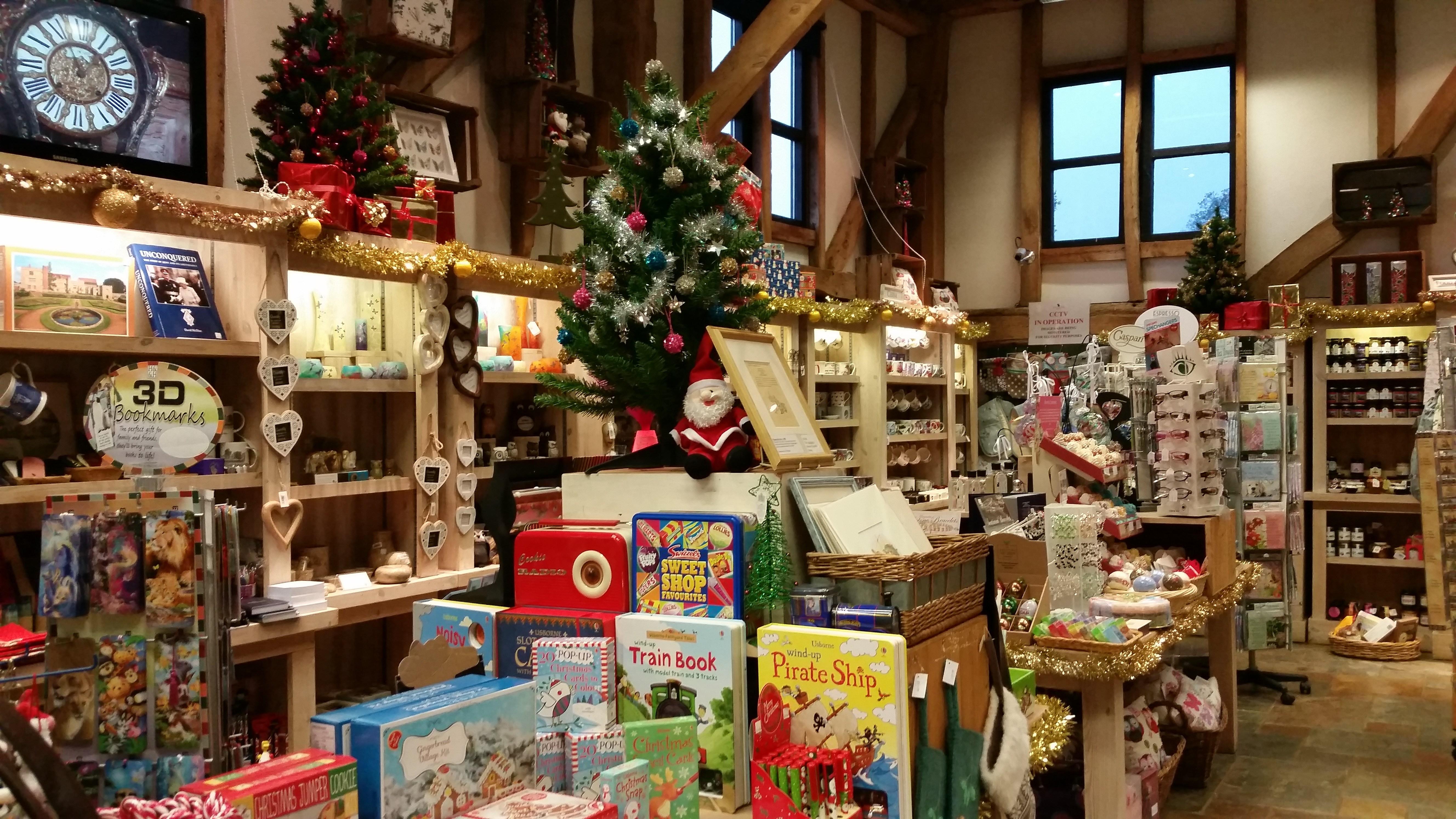 Christmas Gift Shop at Penshurst Place & Gardens