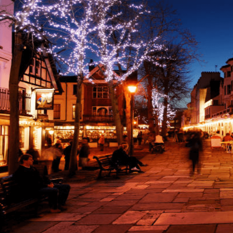 Christmas Lights Switch-on In Kent