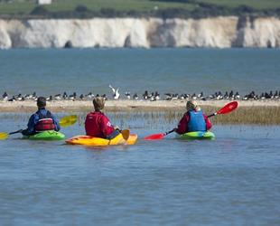 Active Ramsgate - Canoe Trail. Credit Explore Kent